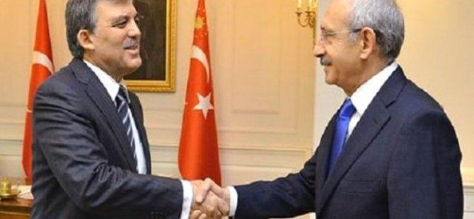 Kılıçdaroğlu, Abdullah Gül'e söz verdi