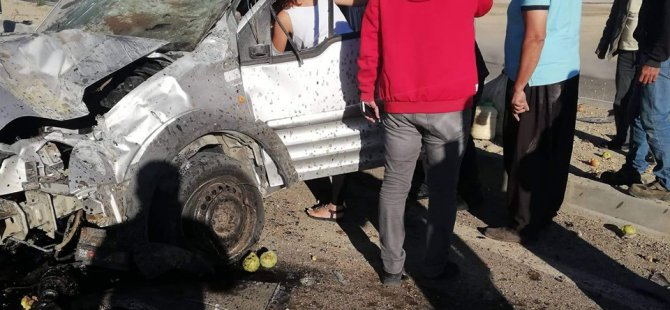 Kayseri-Malatya karayolu kazadan yaralı kurtuldular