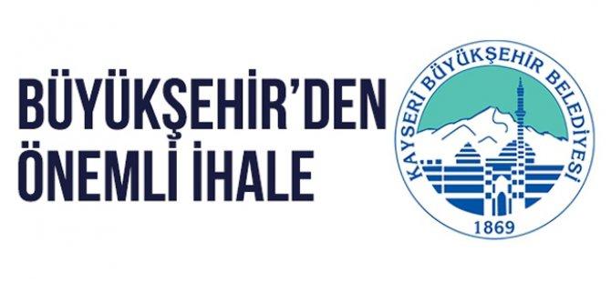 Kayseri Büyükşehir 6 yıllığına reklam ihalesi yaptı