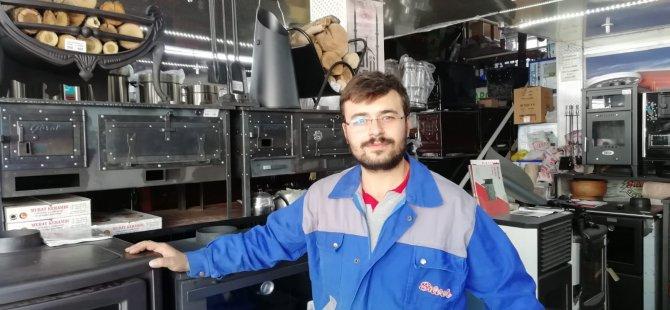 Kayseri'de Artık sobaların pabucu dama atıldı