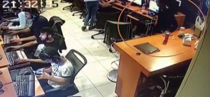 İnternet Kafede Telefon Hırsızlığı
