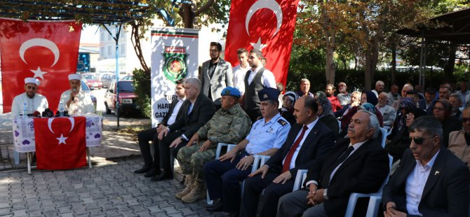 Kayseri'de Barış Pınarı Harekatına 'Fetih Sureli' destek