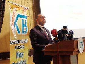 """Borsa Başkanı Bağlamış: """"Kayseri'de at ve eşek kullanımı yok"""""""