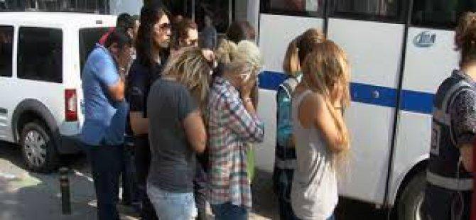 Kayseri'de fuhuş operasyonu 28 kişi yakalandı 12 ev kapatıldı
