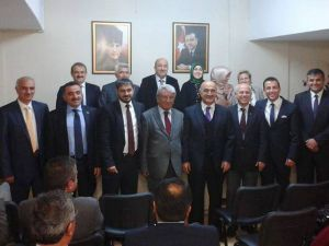 AK Parti Talas belediye başkan aday adayları toplandılar