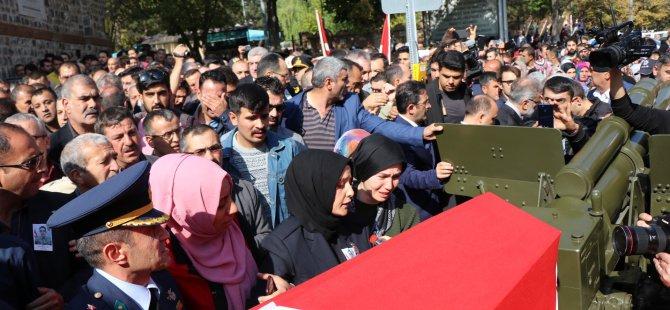 Şehit er Altunok, Kayseri'de son yolculuğuna uğurlandı