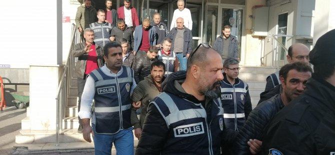 Kayseri'de 23'ü kesinleşmiş hapis cezası olan 38 kişi yakalandı