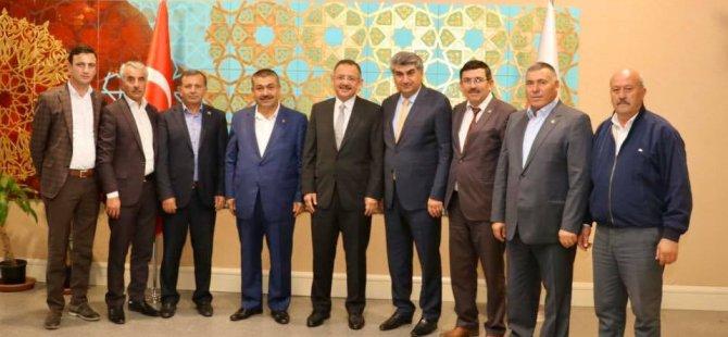 Kocasinan Ziraat Odası Başkanı Güneş Ankara'ya Çıkarma Yaptı