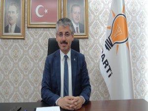 Ak Parti İl Başkanı Çopuroğlu, Mevlid Kandili nedeni ile bir mesaj yayımladı