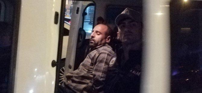Teröristlere yardım ve yataklık eden şahıs Kayseri'ye getirildi