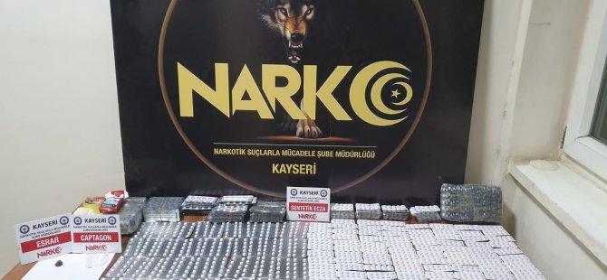 Kayseri'de 3 farklı uyuşturucu operasyonu: 7 gözaltı