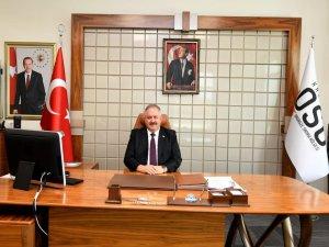 """Kayseri OSB Başkanı Nursaçan, """"Minnet ve şükranla anıyoruz"""""""