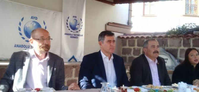 """Feyzioğlu: """"Ben devleti destekliyorum"""""""