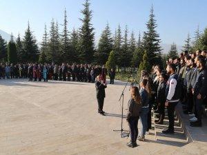 Erciyes Üniversitesinde, Atatürk Anıldı