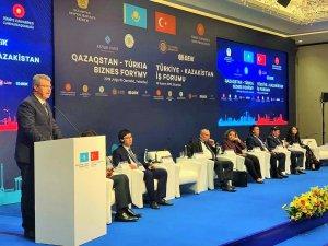 Akay, Kazakistan'ın Bölgesel Yatırım İş Forumunda Konuştu