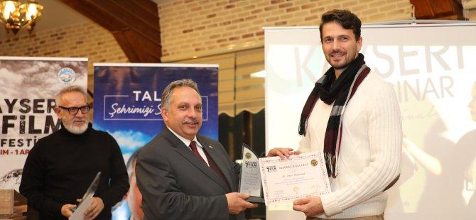 Talas Belediyesi sinemacıları Erciyeste buluşturdu