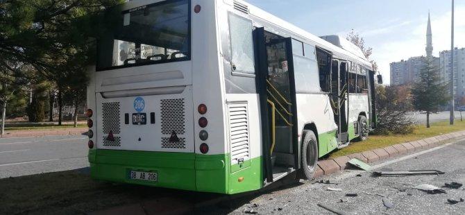 Beyazşehir'de halk otobüsüne beton mikseri çarptı: Çok sayıda yaralı var