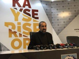 """""""Kayserispor'un menfaati için susun"""""""