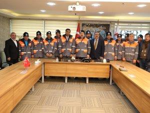 Başkan Palancıoğlu, İş Kıyafetlerini Kendi Denedi