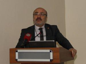 KAYÜ'de 'Siber Tehditler ve Türkiye' Konferansı Yapıldı