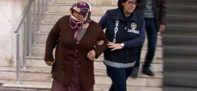 Polis uyanık davrandı akrabasını da yakaladı