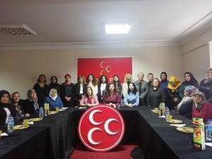 MHP Kocasinan İlçe Kadın Kolları faaliyet raporunu açıkladı