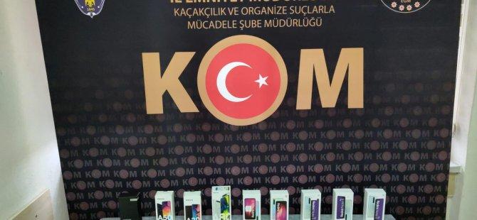 Kayseri'de 25 adet kaçak cep telefonu yakalandı