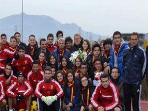 Sümer Anadolu Lisesi Kayserispor'u ziyaret etti