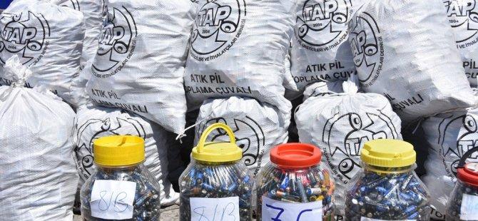 Kocasinan'da elektronik atıklar ekonomiye kazandırılıyor