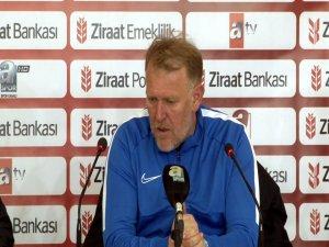 Prosinecki: Önümüzde Alanya maçı var Oradan puan almamız lazım