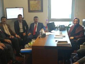Kocasinan Ziraat Odası Başkanı Güneş Milletvekili Nergiz ile görüştü
