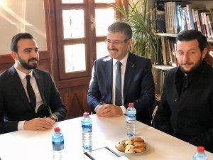 Ak Parti İl Başkanı Çopuroğlu Sanayiciyi dinledi