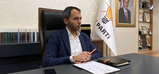 AK Parti Kayseri Gençlik Kolları Başkanı Hasan Nuri Kuş görevini bırakıyor