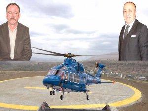 Uzunluoğlu,helikopter pistinin çok yönlü olarak kullanılmasını amaçlıyoruz