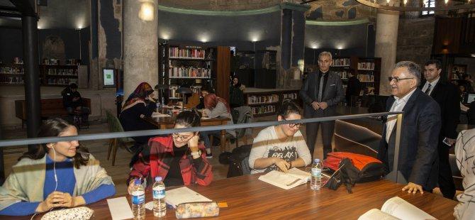 Kayseri Şehir Kütüphanesi törenle açılıyor