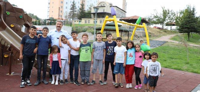 650 parkımızı çocuklarımıza emanet ettik