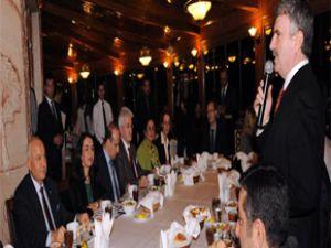 Konya  Büyükşehir Protokolü Alman Heyetini Ağırladı