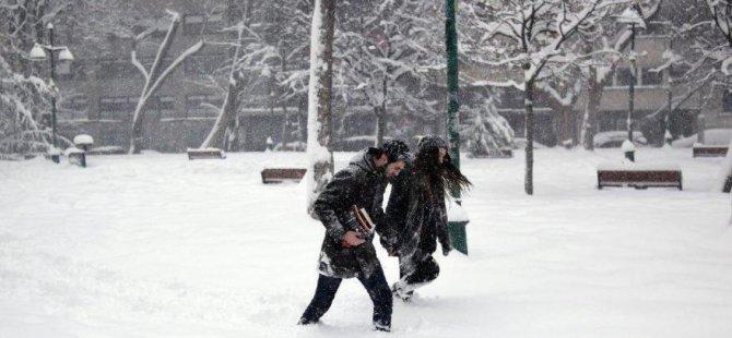 Kayseri'de Melikgazi, Kocasinan, Talas, Hacılar, İncesu'da okullar tatil edildi