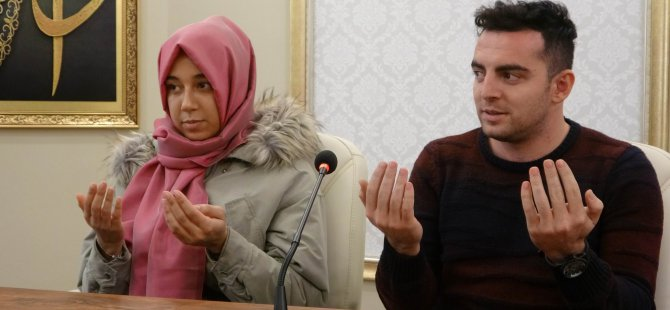 Alman kız Kayserili gence aşık oldu Müslüman oldu
