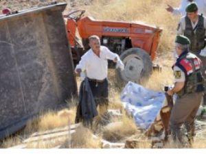 Kendisine ait Traktörün altında kalarak hayatını kaybetti