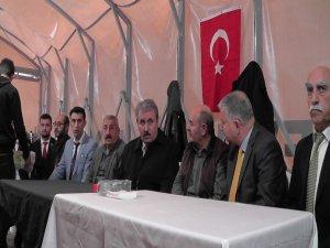 BBP Genel Başkanı Mustafa Destici Develi'de