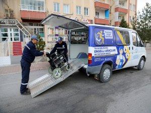 Talas'tan engelli vatandaşlara özel hizmet