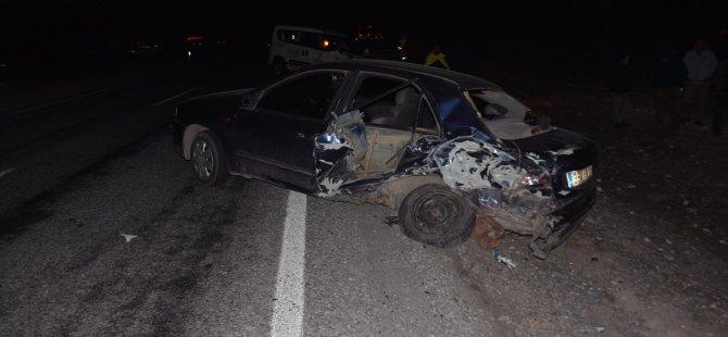 İncesu Nevşehir yol ayrımında duran şahsa otomobil çarptı