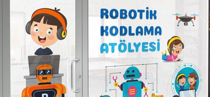Talas Belediyesi robotik kodlama evi açıyor