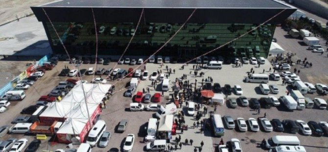 Kayseri Büyükşehir OSB Kongre merkezi çevre düzenleme ihalesini yaptı