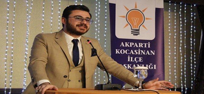 AK Parti Kocasinan'da yaklaşan kongre öncesi Başkan Okandan, kongre davetini yineledi