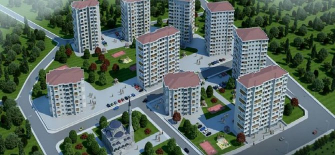 Melikgazi Belediyesi'nden 160 bin tl'ye  sıfır 2+1 ve 3+1 daireler