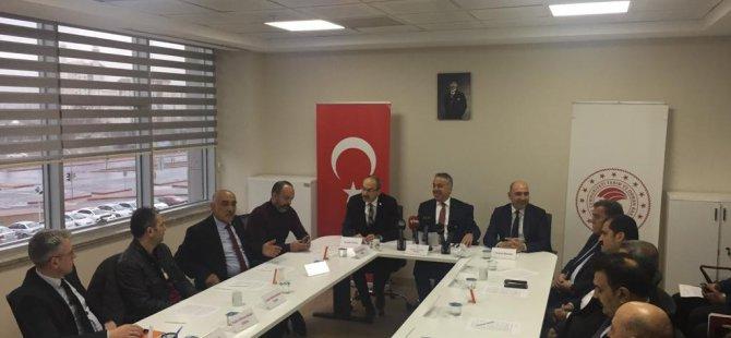 Kayseri'de 'Korona virüs tedbirleri bilgilendirme toplantısı' yapıldı