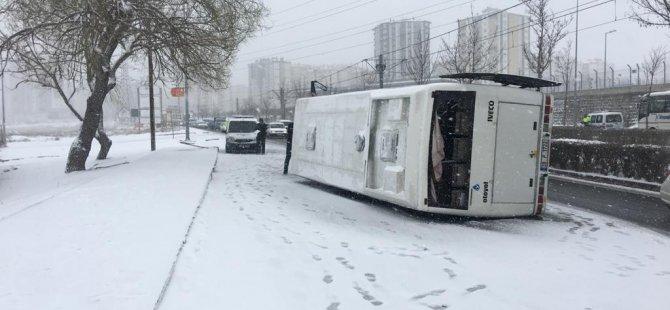 Şehit Taha Carım Bulvarında kaza: 23 yaralı