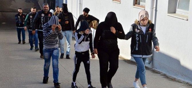 Kayseri'de uyuşturucu satan 24 kişi tutuklandı
